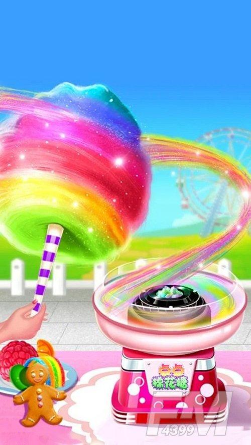 发光棉花糖模拟器