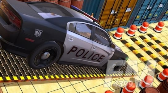 极限警车停车场3D