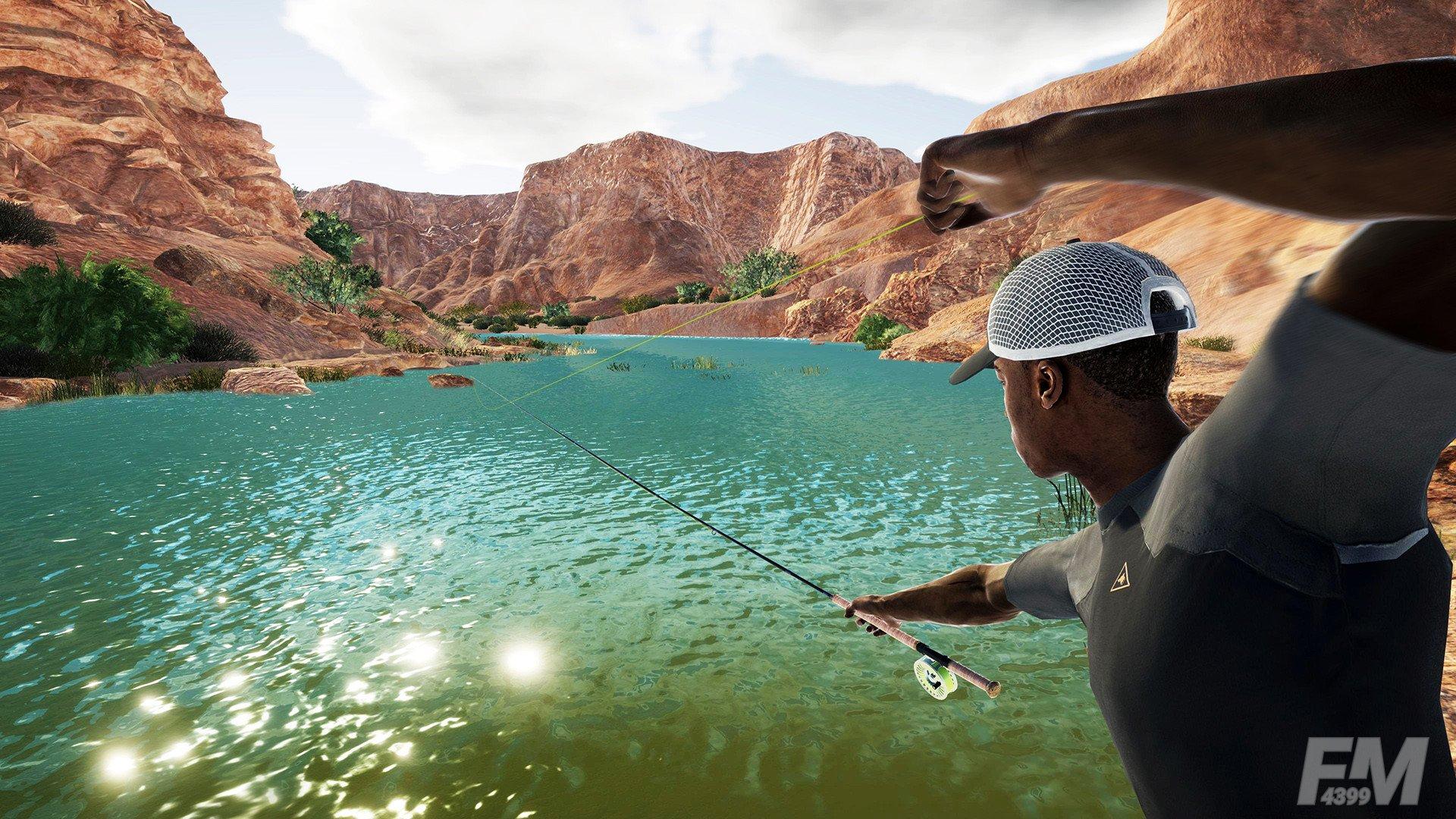 专业钓鱼模拟器