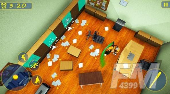 粉碎老板办公室