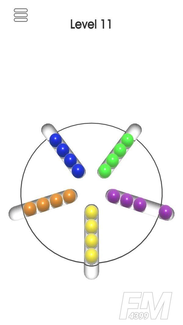 圆圈排序游戏
