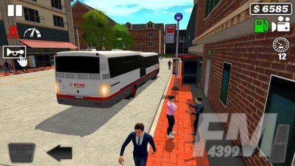 城市巴士驾驶模拟器