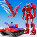 鹰机器人飞行模拟