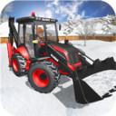 光头强雪地挖掘机