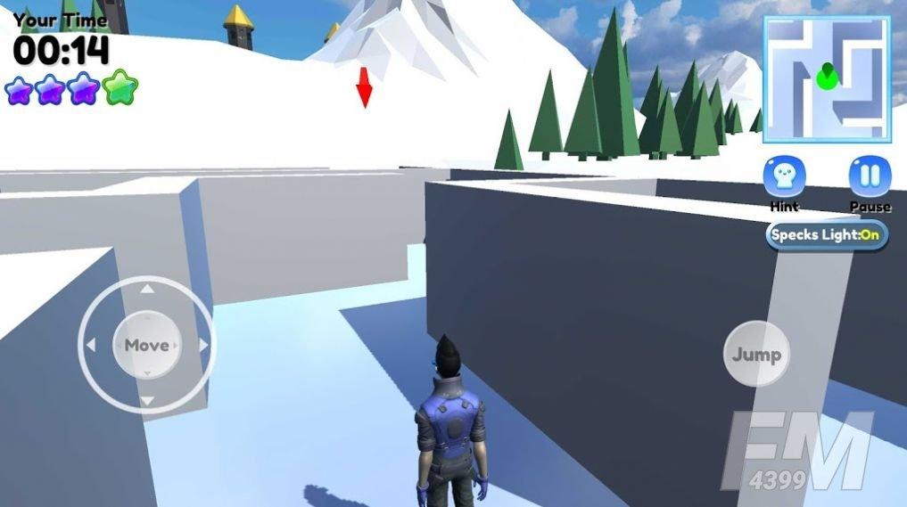 三维迷宫跑酷游戏
