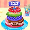 蛋糕面包店公主烹饪