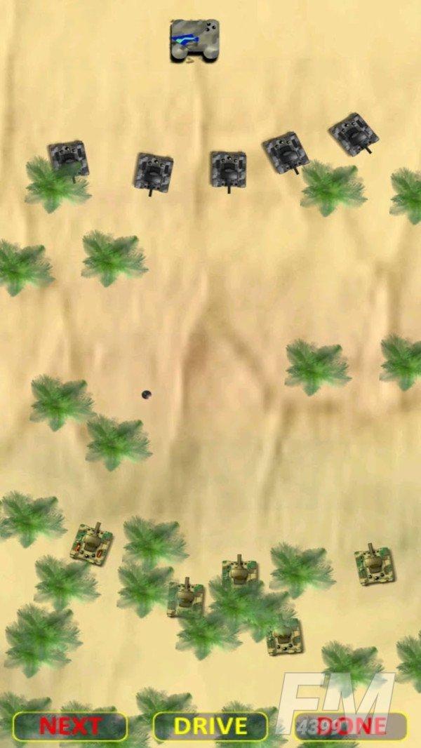 沙漠坦克大战游戏