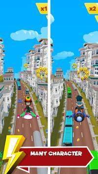 城市疯狂冲浪3D
