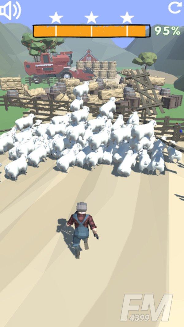 山羊搞破坏