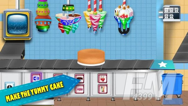 生日蛋糕制造厂