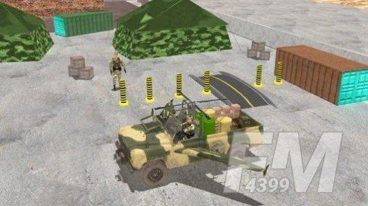 陆军直升机卡车飞行