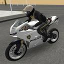 警察摩托车骑手