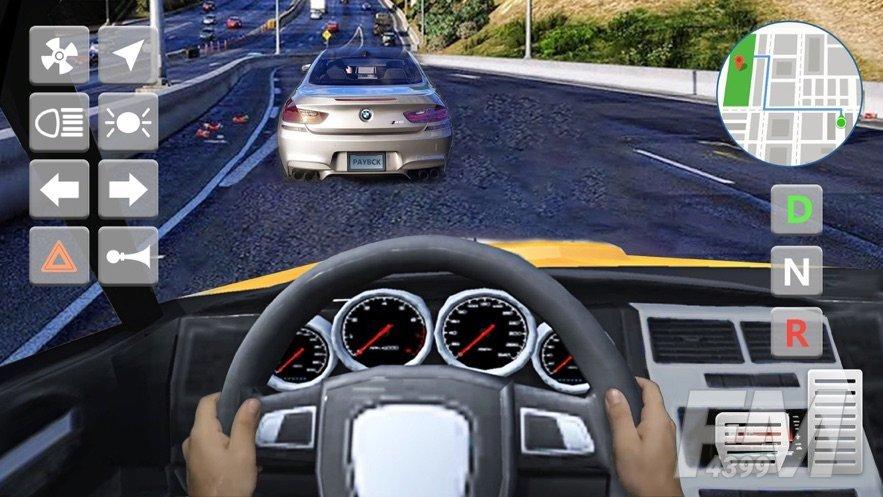 汽车模拟器3D真实驾驶赛车