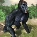 猩猩斗恐龙