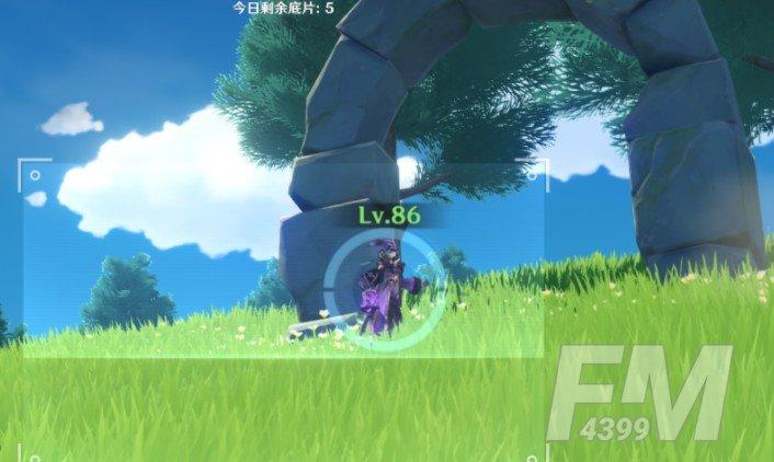 原神带有紫色的生物位置大全:福至五彩紫色生物拍照位置汇总[多图]图片3