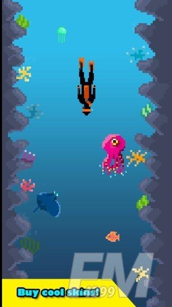 躲避海洋生物