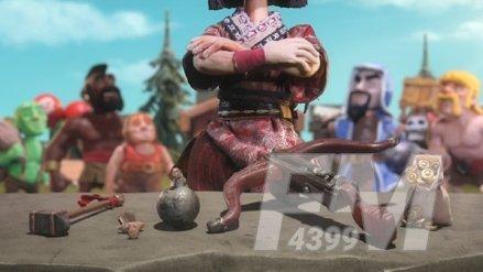《部落冲突》木兰皮肤返场回归 开启属于你的战场争霸
