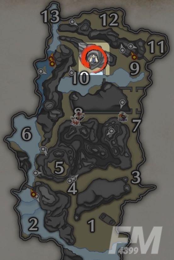 怪物猎人崛起营地位置大全:各地图营地位置分布图[多图]图片1