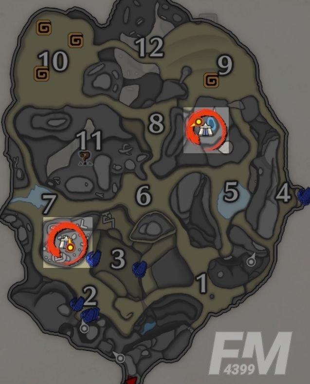 怪物猎人崛起营地位置大全:各地图营地位置分布图[多图]图片4