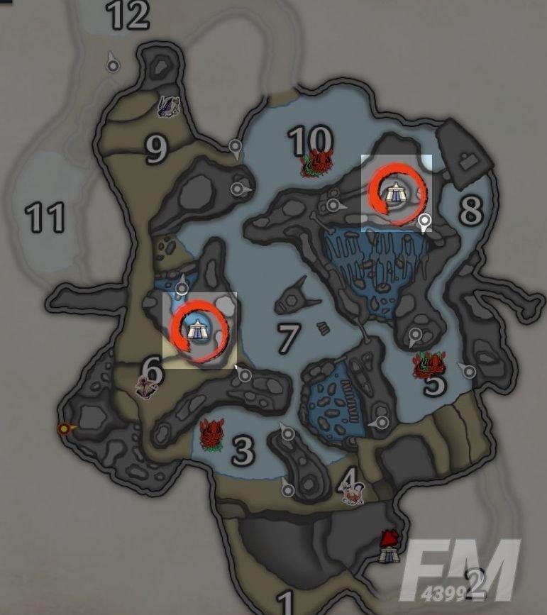怪物猎人崛起营地位置大全:各地图营地位置分布图[多图]图片2