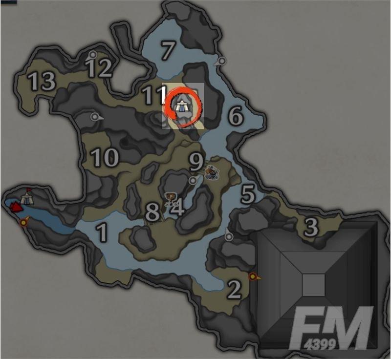 怪物猎人崛起营地位置大全:各地图营地位置分布图[多图]图片3