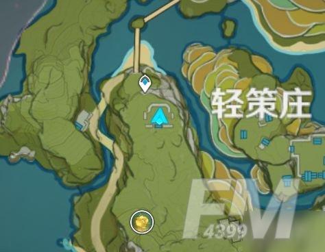 原神轻策庄瀑布山洞在哪 轻策庄瀑布山洞怎么进