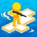木筏战争海战