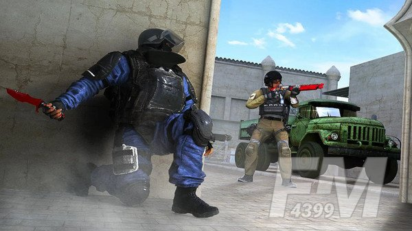 恐怖份子搏斗射击
