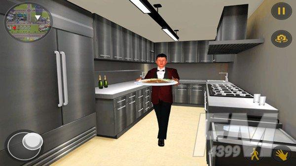 虚拟服务员模拟器