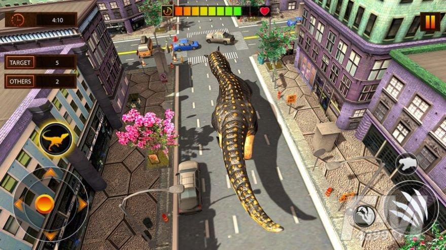 巨型恐龙大破坏