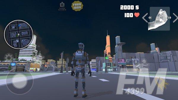 机器人侠盗城