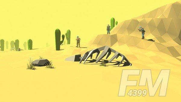 沙漠块状作战