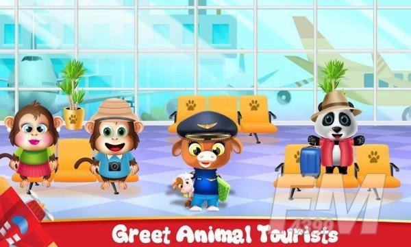 动物机场经理冒险