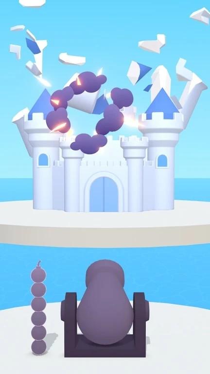 发射炸毁城堡截图