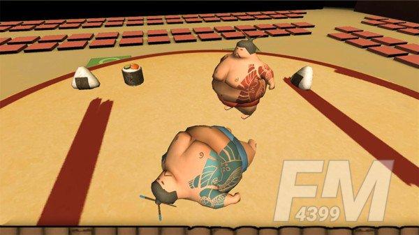 相扑摔跤赛