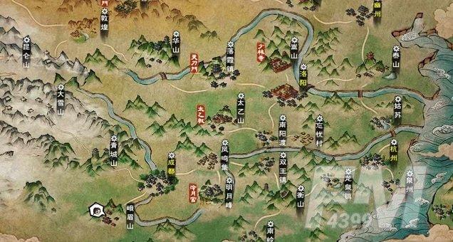 烟雨江湖李小花在哪里?蜀南米粉李小花位置坐标大全图片2