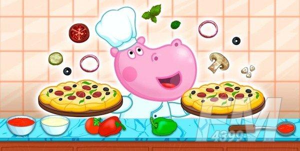 为孩子做饭