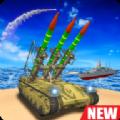 海军导弹发射战舰模拟