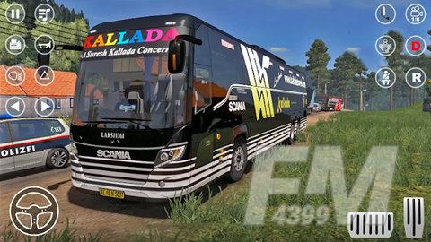 教练巴士驾驶模拟