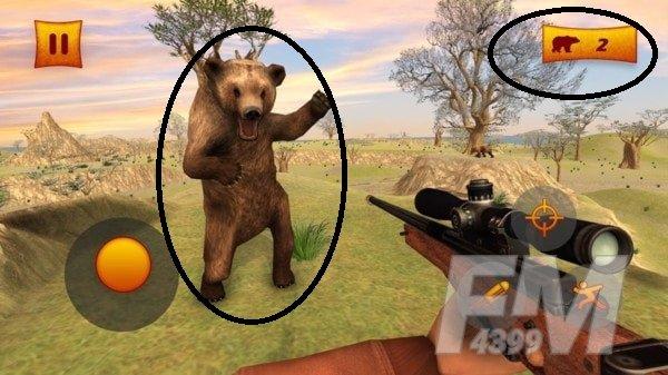 丛林动物狙击手
