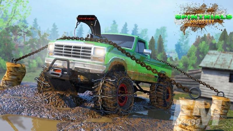 越野货运泥泞驾驶模拟器