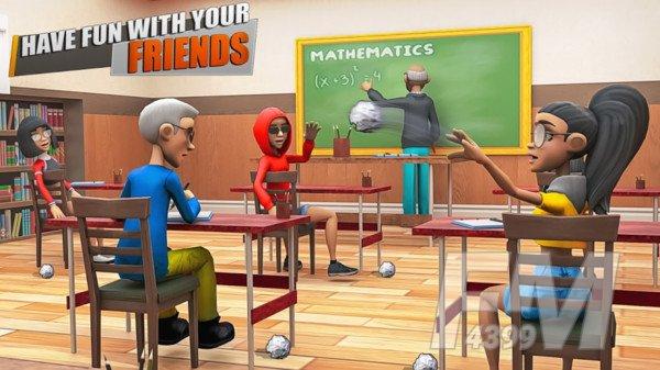 虚拟校园模拟器