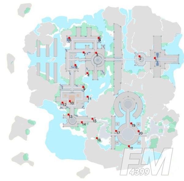 刀剑神域黑衣剑士王牌宝箱位置在哪?地图1-5层宝箱位置分布图一览图片5