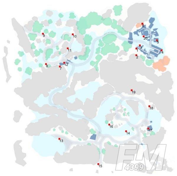 刀剑神域黑衣剑士王牌宝箱位置在哪?地图1-5层宝箱位置分布图一览图片6