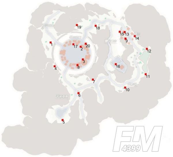 刀剑神域黑衣剑士王牌宝箱位置在哪?地图1-5层宝箱位置分布图一览图片4