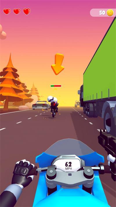 摩托车枪手截图