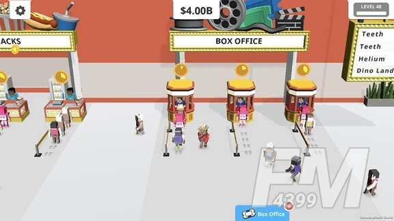 电影院经营模拟