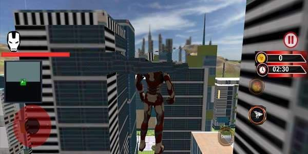 飞行超级钢铁英雄