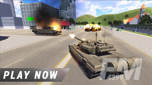 顶级军队坦克