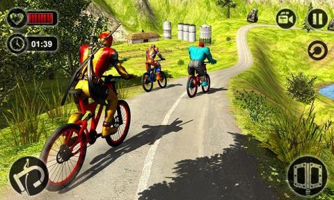 山地车特技BMX截图